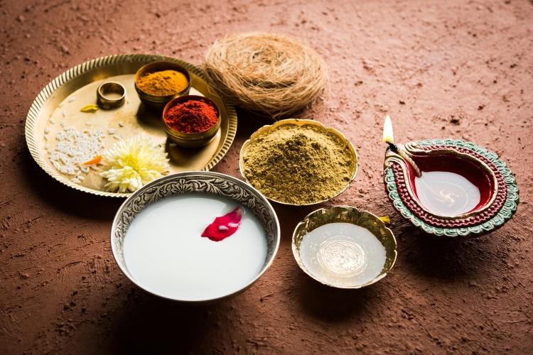 Deepavali oil bath